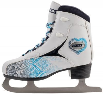 Roces RFG2 (взрослые)Ледовые коньки<br>Ледовые коньки от roces. Удобная модель ледовых коньков, предназначенная для фитнес-катания и выполненная из высококачественной синтетической кожи.
