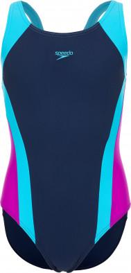 Купальник для девочек Speedo Contrast Panel Splashback
