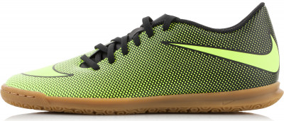 Бутсы мужские Nike Bravatax II ICМужские бутсы nike bravatax ii (ic) - удачный выбор для скоростной игры в зале подошва разработана специально для покрытия в зале.<br>Пол: Мужской; Возраст: Взрослые; Вид спорта: Футбол; Тип поверхности: Зал; Способ застегивания: Шнуровка; Материал верха: 100 % синтетическая кожа; Материал стельки: 100 % текстиль; Материал подошвы: 100 % резина; Производитель: Nike; Артикул производителя: 844441-070; Страна производства: Вьетнам; Размер RU: 44,5;