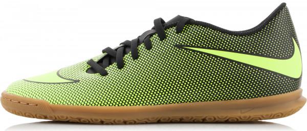 Бутсы мужские Nike Bravatax II IC черный салатовый цвет - купить за 1499  руб. в интернет-магазине Спортмастер d38e81fda47