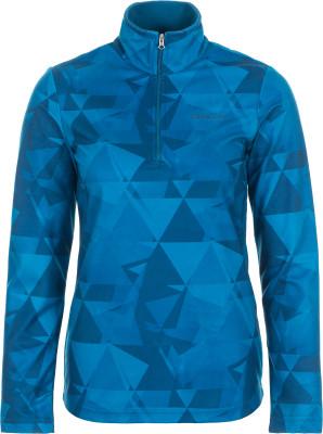 Джемпер женский Glissade, размер 46Джемперы<br>Удобный и яркий джемпер с молнией до середины груди от glissade - оптимальный вариант для катания на горных лыжах.
