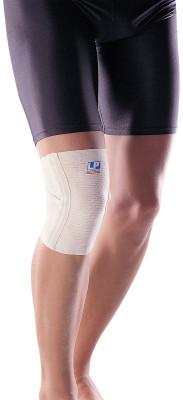 Суппорт колена с опорами LP 639Обеспечивает отличную поддержку благодаря соединению крест на крест под коленом. Дышащий материал сохраняет кожу сухой. Незаметен под одеждой.<br>Материалы: 90 % хлопок, 10 % эластик; Производитель: LP Support; Артикул производителя: LPP639; Срок гарантии: 2 года; Страна производства: Тайвань; Размер RU: L;