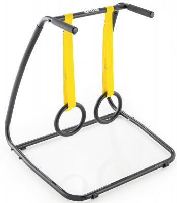 Тренировочная станция Kettler CrossrackМногофункциональная тренировочная станция crossrack идеальна для тренировок, с использованием веса своего тела.<br>Тренируемые группы мышц: Пресс, руки, плечи, ноги; Максимальный вес пользователя: 110 кг; Размер в рабочем состоянии (дл. х шир. х выс), см: 90 х 88 х 75; Размер в сложенном виде (дл. х шир. х выс), см: 90 х 88 х 75; Вес, кг: 12 кг; Вид спорта: Силовые тренировки; Производитель: Kettler; Артикул производителя: 7707-770; Срок гарантии: 2 года; Страна производства: Германия; Размер RU: Без размера;