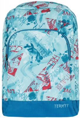 Рюкзак TermitРюкзак, изготовленный из прочной износостойкой ткани. Удобен в использовании, оснащен необходимыми карманами и регулируемыми лямками. Отличный вариант для путешествий.<br>Пол: Мужской; Возраст: Взрослые; Объем: 20; Размеры (дл х шир х выс), см: 47 х 32 х 14; Водоотталкивающая пропитка: Есть; Количество карманов: 1; Количество отделений: 2; Материал верха: 100 % полиэстер; Материал подкладки: 100 % полиэстер; Производитель: Termit; Артикул производителя: ATERSU03Q2; Страна производства: Китай; Размер RU: Без размера;