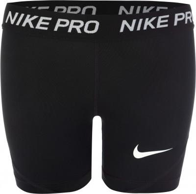 Шорты для девочек Nike Pro, размер 146-156