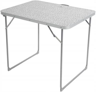 Стол OutventureПрактичный складной стол для кемпинга. В сложенном виде занимает совсем немного места, а в разложенном позволяет с удобством приготовить пищу.<br>Максимальная нагрузка, кг: 25 кг; Размер в рабочем состоянии (дл. х шир. х выс), см: 80 х 60 х 79; Размер в сложенном виде (дл. х шир. х выс), см: 63 х 23 х 82; Материал каркаса: Сталь; Материал столешницы (для столов): МДФ; Вес, кг: 3,5; Вид спорта: Кемпинг; Производитель: Outventure; Артикул производителя: IE41992; Срок гарантии: 2 года; Страна производства: Китай; Размер RU: Без размера;