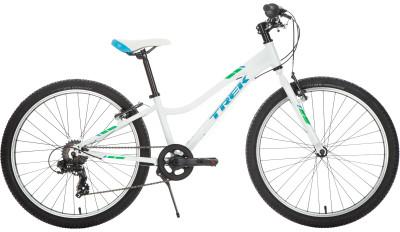 Trek PRECALIBER 24 7SP GIRLS (2018)Детский велосипед для езды по городу и катания в парке. Модель рассчитана на возраст 8-12 лет и рост 135-160 см.<br>Материал рамы: Алюминий; Амортизация: Hard tail; Конструкция рулевой колонки: Неинтегрированная; Конструкция вилки: Жесткая; Материал педалей: Нейлон; Система: Dialed adjustable length 127 mm - 152 mm, 32T; Количество скоростей: 7; Наименование заднего переключателя: Shimano Tourney Ty300; Конструкция педалей: Классические; Наименование манеток: Shimano Tourney Rs35; Конструкция манеток: Вращающиеся ручки; Тип переднего тормоза: Ободной; Тип заднего тормоза: Ободной; Материал втулок: Сталь; Диаметр колеса: 24; Тип обода: Одинарный; Материал обода: Алюминиевый сплав; Наименование покрышек: Bontrager x R1, 24 x 1,85; Материал руля: Алюминий; Название шифтера: Shimano Tourney; Конструкция руля: Изогнутый; Регулировка руля: Нет; Регулировка седла: Да; Амортизационный подседельный штырь: Нет; Максимальный вес пользователя: 77 кг; Вид спорта: Велоспорт; Технологии: Alpha Silver; Производитель: Trek; Артикул производителя: TR553327; Срок гарантии: 6 месяцев; Вес, кг: 11,03; Страна производства: Китай; Размер RU: 135-160;