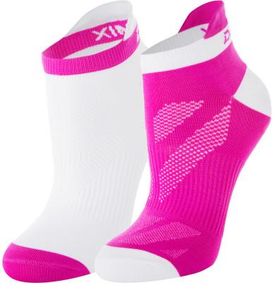 Носки женские Demix, 2 парыПрекрасные спортивные носки из микрофибры отлично впитывают влагу и быстро сохнут. Благодаря вкраплению лайкры хорошо тянутся.<br>Пол: Женский; Возраст: Взрослые; Вид спорта: Спортивный стиль; Производитель: Demix; Артикул производителя: JWCZ010XS; Страна производства: Пакистан; Материал верха: 95 % нейлон, 5 % эластан; Материалы: 95% нейлон, 5% эластан; Размер RU: 35-38;