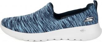 29ca02e68 Слипоны женские Skechers Go Walk Joy-Terrific синий/белый цвет ...
