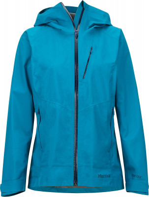 Ветровка женская Marmot, размер 54-56Куртки <br>Универсальная ветровка women s knife edge jacket защитит от дождя во время горных походов.