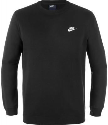 Джемпер мужской Nike SportswearПрактичный флисовый джемпер nike sportswear отлично впишется в ваш спортивный гардероб.<br>Пол: Мужской; Возраст: Взрослые; Вид спорта: Спортивный стиль; Капюшон: Отсутствует; Застежка: Отсутствует; Материал верха: 80 % хлопок, 20 % полиэстер; Производитель: Nike; Артикул производителя: 804340-010; Страна производства: Пакистан; Размер RU: 52;