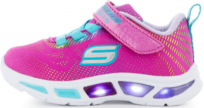 Кроссовки для девочек Skechers Litebeams-Pretty Gleam, размер 25,5