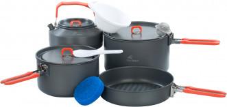 Набор посуды: 2 котелка, сковорода, чайник Fire-Maple FEAST 4