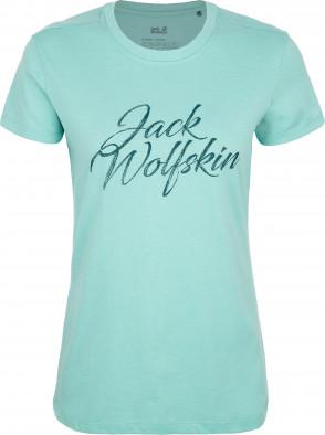 Футболка женская JACK WOLFSKIN Brand