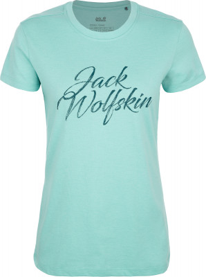 Футболка женская JACK WOLFSKIN Brand, размер 46-48 фото