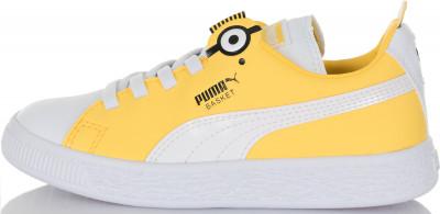 Кеды для девочек Puma Minions Basket Bs Ac Ps