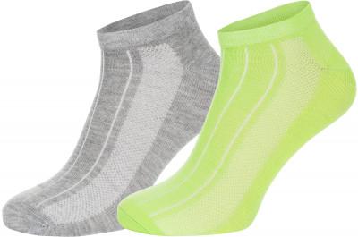 Носки Wilson, 2 парыУдобные яркие носки wilson для любителей спортивного стиля.<br>Пол: Мужской; Возраст: Взрослые; Вид спорта: Спортивный стиль; Дополнительная вентиляция: Да; Материалы: 98 % полиэстер, 2 % эластан; Производитель: Wilson; Артикул производителя: W578-V; Страна производства: Китай; Размер RU: 37-42;