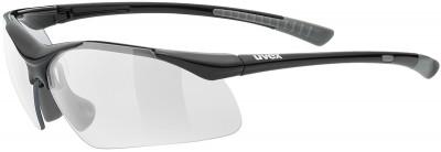 Солнцезащитные очки UvexЛаконичные солнечные очки от uvex надежно защищают глаза от яркого света, ветра и брызг.<br>Цвет линз: Прозрачный; Назначение: Активный отдых; Пол: Мужской; Возраст: Взрослые; Вид спорта: Активный отдых; Ультрафиолетовый фильтр: Да; Материал линз: Поликарбонат; Оправа: Пластик; Технологии: 100% UVA- UVB- UVC-PROTECTION; Производитель: Uvex; Артикул производителя: S5309822218; Срок гарантии: 1 месяц; Страна производства: Китай; Размер RU: Без размера;