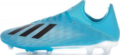 Бутсы мужские Adidas X 19.3 FG, размер 42,5