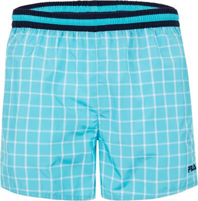 Шорты плавательные мужские Fila, размер 46Плавки, шорты плавательные<br>Технологичные плавательные шорты от fila - отличный выбор для посещения бассейна. Быстрое высыхание благодаря технологии swim n dry, ткань быстро сохнет.