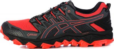 Кроссовки мужские ASICS Gel-Fujitrabuco 7 G-TX, размер 42Кроссовки <br>Технологичные кроссовки для бега по бездорожью asics gel-fujitrabuco 7 g-tx, дополненные водонепроницаемой мембраной, гарантируют комфорт и надежное сцепление на самом сложн