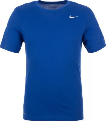 Футболка мужская Nike Dri-FIT, размер 52-54Футболки<br>Футболка для тренинга nike dri-fit из мягкой влагоотводящей ткани сделает занятия спортом максимально эффективными.