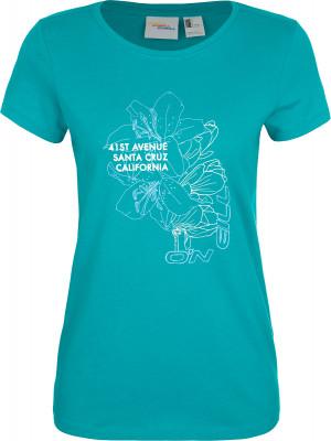 Футболка женская ONeill Lw Felines Of Oneill, размер 48-50Surf Style <br>Яркая футболка o neill - отличный вариант для активного отдыха на пляже. Натуральные материалы 100% хлопок для хорошего воздухообмена в жаркую погоду.
