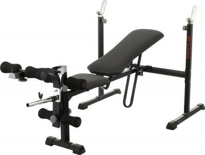 Силовая скамья Kettler PrimusУниверсальная силовая скамья со свободными весами от kettler позволяет выполнять большое количество разнообразных упражнений, направленных на все основные группы мышц.<br>Тренируемые группы мышц: Руки, плечи, грудь, спина, ноги, пресс; Максимальная нагрузка на стойки для штанги, кг: 100; Максимальный вес пользователя: 130 кг; Регулировки: Наклон спинки, положение сиденья, высота стойки для штанги, длина блока для ног; Особенности: Блины и грифы не входят в комплект, Расстояние между стойками для штанги - 100 см; Размер в рабочем состоянии (дл. х шир. х выс), см: 203 x 101 x 96 - 111; Размер в сложенном виде (дл. х шир. х выс), см: 75 х 101 х 163; Вес, кг: 36; Вид спорта: Силовые тренировки; Производитель: Heinz-Kettler GmbH &amp; CO.KG; Артикул производителя: 07403-900; Срок гарантии: 2 года; Страна производства: Германия; Размер RU: Без размера;