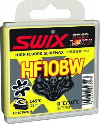 Мазь скольжения Swix HF10BW, 0C/+10C, размер ...