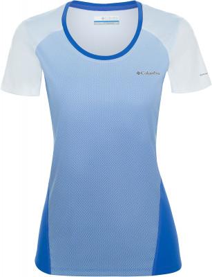 Футболка женская Columbia Solar Chill 2.0, размер 50Футболки<br>Эксклюзивные технологии columbia делают эту футболку оптимальным выбором для активного отдыха на природе.