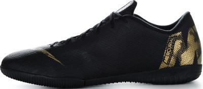 Бутсы мужские Nike Mercurial Vapor 12 Academy IC, размер 39,5Бутсы<br>Футбольные бутсы для игры в зале и на поле nike vaporx 12 academy ic с сетчатым верхом сидят, как вторая кожа, и гарантируют комфорт и результативность в игре контроль текст
