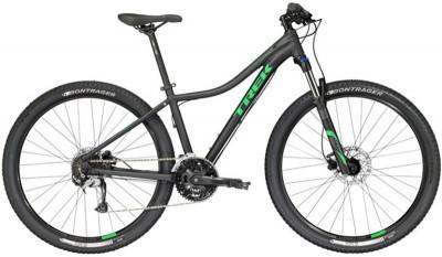 Велосипед горный женский Trek Cali S WSDЖенский скоростной велосипед с легендарной гоночной геометрией g2. В модели предусмотрена скрытая проводка троса переднего переключателя и крепления для багажника.<br>Материал рамы: Алюминий; Размер рамы: 18,5; Амортизация: Hard tail; Конструкция рулевой колонки: Полуинтегрированная; Конструкция вилки: Витая пружина; Ход вилки: 100 мм; Регулировка жесткости вилки: Есть; Блокировка вилки: Есть; Количество скоростей: 27; Наименование переднего переключателя: Shimano Altus; Наименование заднего переключателя: Shimano Acera; Конструкция педалей: Классические; Наименование манеток: Shimano Altus; Конструкция манеток: Триггерные двурычажные; Тип переднего тормоза: Дисковый гидравлический; Тип заднего тормоза: Дисковый гидравлический; Возможность крепления дискового тормоза: Рама, вилка, втулки; Диаметр колеса: 29; Тип обода: Двойной; Материал обода: Алюминиевый сплав; Наименование покрышек: Bontrager XR2, 29x2,20; Конструкция руля: Изогнутый; Регулировка руля: Есть; Регулировка седла: Есть; Сезон: 2017; Максимальный вес пользователя: 136 кг; Вид спорта: Велоспорт; Технологии: Alpha Gold; Производитель: Trek; Артикул производителя: TR53471; Срок гарантии: 1 год; Страна производства: Китай; Размер RU: 18,5;