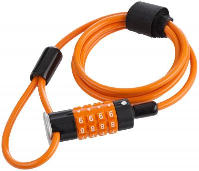 Замок велосипедный кодовый CyclotechПрочный велосипедный замок поможет защитить велосипед от угона. Особенности модели: кодовый механизм защиты; размер 5 мм х 120 см.<br>Материал замка: Пластик, виниловая оплетка; Толщина: 5 мм; Вид спорта: Велоспорт; Производитель: Cyclotech; Длина: 120 см; Артикул производителя: CLK-4OR; Страна производства: Китай; Размер RU: Без размера;