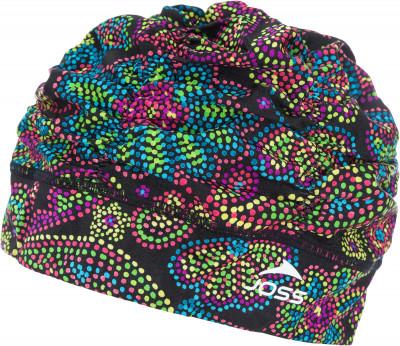 Шапочка для плавания женская JossТехнологичная женская шапочка для плавания joss обеспечивает удобство и комфорт во время тренировок в бассейне.<br>Пол: Женский; Возраст: Взрослые; Вид спорта: Плавание; Назначение: Универсальные; Технологии: Shira Light; Производитель: Joss; Артикул производителя: WHC05A7B1; Страна производства: Китай; Материал верха: 100 % латекс; Размер RU: Без размера;