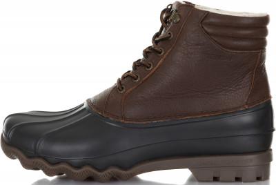 мужские ботинки sperry, коричневые