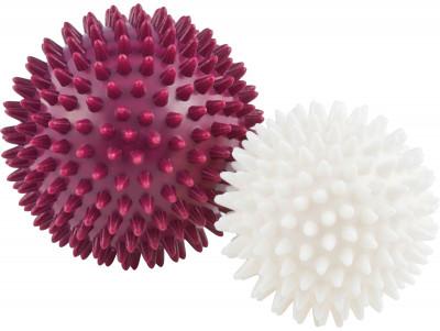 Мячи массажные Kettler, 2 штМячи для оздоровительного массажа и реабилитации после травм. В комплекте 2 шт разного диаметра: 7, 5 и 9 см.<br>Состав: Поливинилхлорид; Вид спорта: Фитнес; Производитель: Kettler; Артикул производителя: 07351-530; Срок гарантии: 2 года; Страна производства: Китай; Размер RU: 7,5 / 9 см;