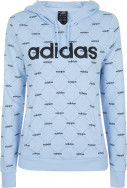 Худи женская Adidas Linear Graphic