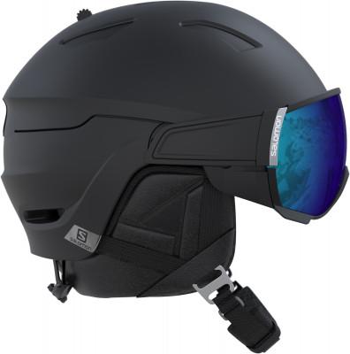 Шлем Salomon Driver AllШлем с визором driver all от salomon защита конструкция внутренннего слоя шлема eps 4d поглощает на 30 % больше энергии удара, чем это требуется стандартом ce-en 1077.<br>Пол: Мужской; Возраст: Взрослые; Вид спорта: Горные лыжи; Конструкция: Hybrid; Вентиляция: Регулируемая; Сертификация: CE-EN1077 / ASTM F-2040; Регулировка размера: Есть; Тип регулировки размера: Custom Dial; Материал внешней раковины: Пластик; Материал внутренней раковины: Пенополистирол; Материал подкладки: Полиэстер; Технологии: Advanced Skin ActiveDry, Custom dial, EPS 4D, Motion Shield; Производитель: Salomon; Артикул производителя: L39919400; Срок гарантии: 2 года; Страна производства: Китай; Размер RU: 59-62;