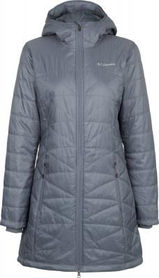 Куртка утепленная женская Columbia Mighty LiteУтепленная куртка columbia mighty lite - отличный выбор для поездок и долгих прогулок.<br>Пол: Женский; Возраст: Взрослые; Вид спорта: Путешествие; Вес утеплителя на м2: 80 г/м2; Наличие мембраны: Нет; Возможность упаковки в карман: Нет; Регулируемые манжеты: Нет; Длина по спинке: 86 см; Покрой: Приталенный; Светоотражающие элементы: Нет; Дополнительная вентиляция: Нет; Проклеенные швы: Нет; Длина куртки: Длинная; Наличие карманов: Да; Капюшон: Не отстегивается; Мех: Отсутствует; Количество карманов: 2; Водонепроницаемые молнии: Нет; Застежка: Молния; Технологии: Omni-Heat, Omni-Shield; Производитель: Columbia; Артикул производителя: 1468771021M; Страна производства: Вьетнам; Материал верха: 100 % полиэстер; Материал подкладки: 100 % полиэстер; Материал утеплителя: 100 % полиэстер; Размер RU: 46;