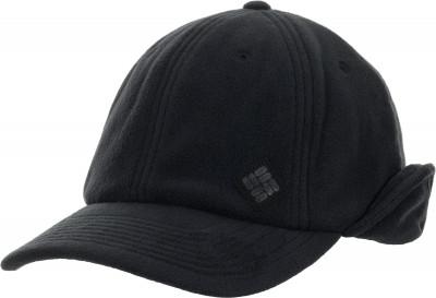мужская бейсболка columbia, черная