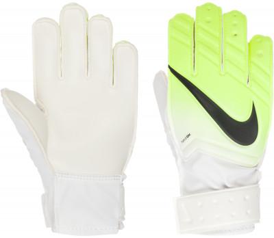 Перчатки вратарские детские Nike Jr. Match GoalkeeperДетские футбольные перчатки nike jr. Match goalkeeper с амортизирующей вставкой помогут удержать мяч в любую погоду.<br>Вид спорта: Футбол; Производитель: Nike; Артикул производителя: GS0331-100; Срок гарантии: 30 дней; Страна производства: Китай; Размер RU: 7;