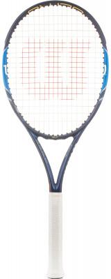 Ракетка для большого тенниса Wilson Ultra 97Универсальная ракетка ultra 97 позволяет получить максимальное удовольствие как от серьезного турнира, так и от дружеской встречи.<br>Вес (без струны), грамм: 310; Размер головы: 626 кв.см; Длина: 27; Баланс: 315 мм; Материалы: Графит, базальт, синтетические материалы; Наличие струны: В комплекте; Наличие чехла: Опционально; Вид спорта: Большой теннис; Технологии: Cushion foam, Hight Perfomance Carbon Fiber, Parallel Drilling, Spin Effect; Производитель: Wilson; Артикул производителя: WRT72960U; Срок гарантии: 1 год; Страна производства: Китай; Размер RU: 3;