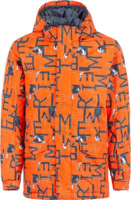 Купить Куртку утепленная для мальчиков Termit, размер 164 красного цвета