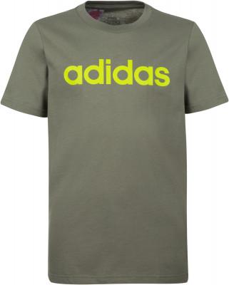 Футболка для мальчиков Adidas Essentials Linear Logo, размер 128