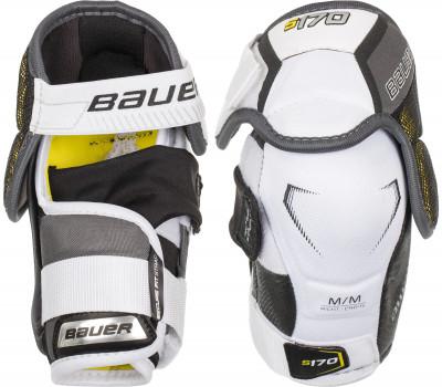 Налокотники хоккейные детские Bauer S17 Supreme S170Детские налокотники от bauer обеспечивают надежную защиту и удобную анатомическую посадку, которая не стесняет движений.<br>Пол: Мужской; Возраст: Дети; Вид спорта: Хоккей; Материалы: Vent armor foam, PE, пена средней плотности, 3-strap system, Anchor strap.; Тип фиксации: 3-strap system, Anchor strap; Вентиляция: Да; Производитель: Bauer; Артикул производителя: 1050794; Срок гарантии: 1 год; Страна производства: Вьетнам; Размер RU: 50-52;