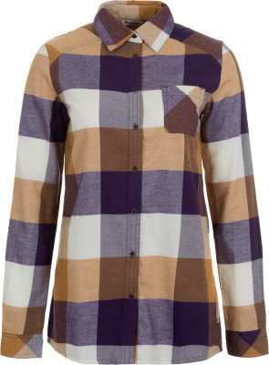 Купить со скидкой Рубашка с длинным рукавом женская Outventure, размер 48