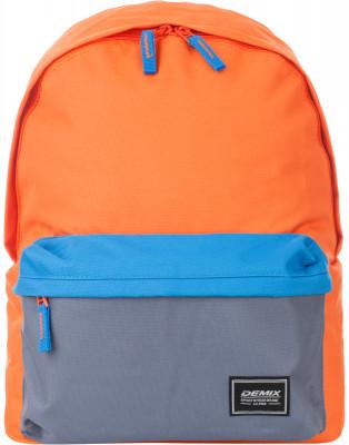 Рюкзак DemixОтличное качество, хорошая цена! Молодежный рюкзак спортивного стиля сделан из прочного износостойкого полиэстера, устойчивого к выцветанию.<br>Пол: Мужской; Возраст: Взрослые; Вид спорта: Спортивный стиль; Объем: 15 л; Размеры (дл х шир х выс), см: 31.5 x 12 x 40; Отделение для ноутбука: Есть; Количество отделений: 2; Материал верха: 100% полиэстер; Материал подкладки: 100% полиэстер; Производитель: Demix Basic; Артикул производителя: CUCG01_EQ0; Страна производства: Китай; Размер RU: Без размера;