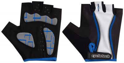 Велосипедные перчатки Cyclotech RazorПрочные удобные перчатки отлично вентилируются, не дают руке скользить и хорошо садятся по руке.<br>Материал верха: Сетчатая ткань; Материал подкладки: Искусственная кожа; Тип фиксации: Липучка; Производитель: Cyclotech; Артикул производителя: 15RAZ-BL; Срок гарантии: 6 месяцев; Страна производства: Пакистан; Размер RU: 8;