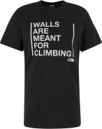 Футболка мужская The North Face Walls Are For Climbing