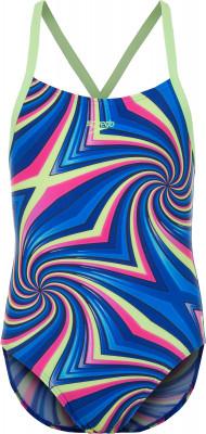 Купальник для девочек Speedo Digi Alv, размер 140Купальники <br>Купальник для девочек speedo подходит для тренировок в бассейне. Защита от хлора модель выполнена из ткани endurance, устойчивой к воздействию хлора.